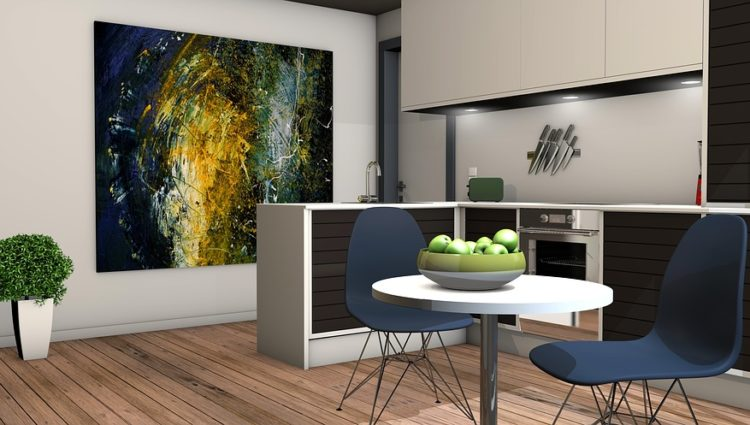 kuchnia w mieszkaniu
