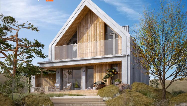 Najlepsze projekty domów tanich w budowie